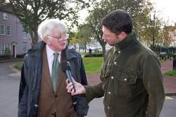 Andrew Fakes Radio Norfolk Interview