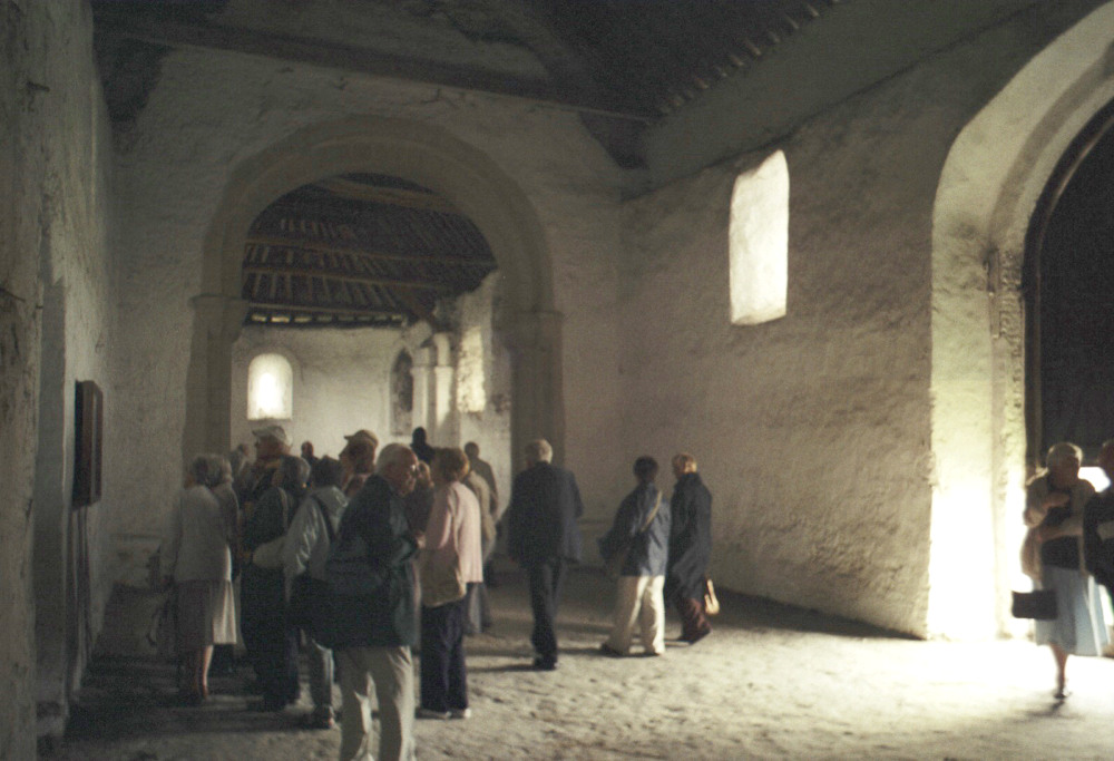 Inside Isleham Priory Church