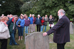 GY Minster Cemetery Crawl Aug 2014
