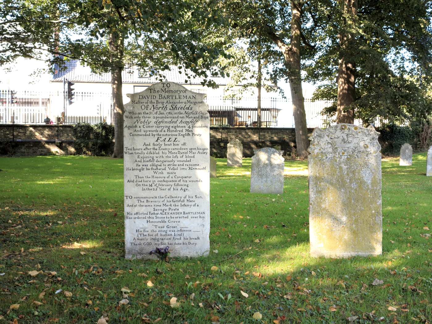 Bartlemen's Tombstone