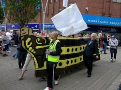 President in Carnival Procession