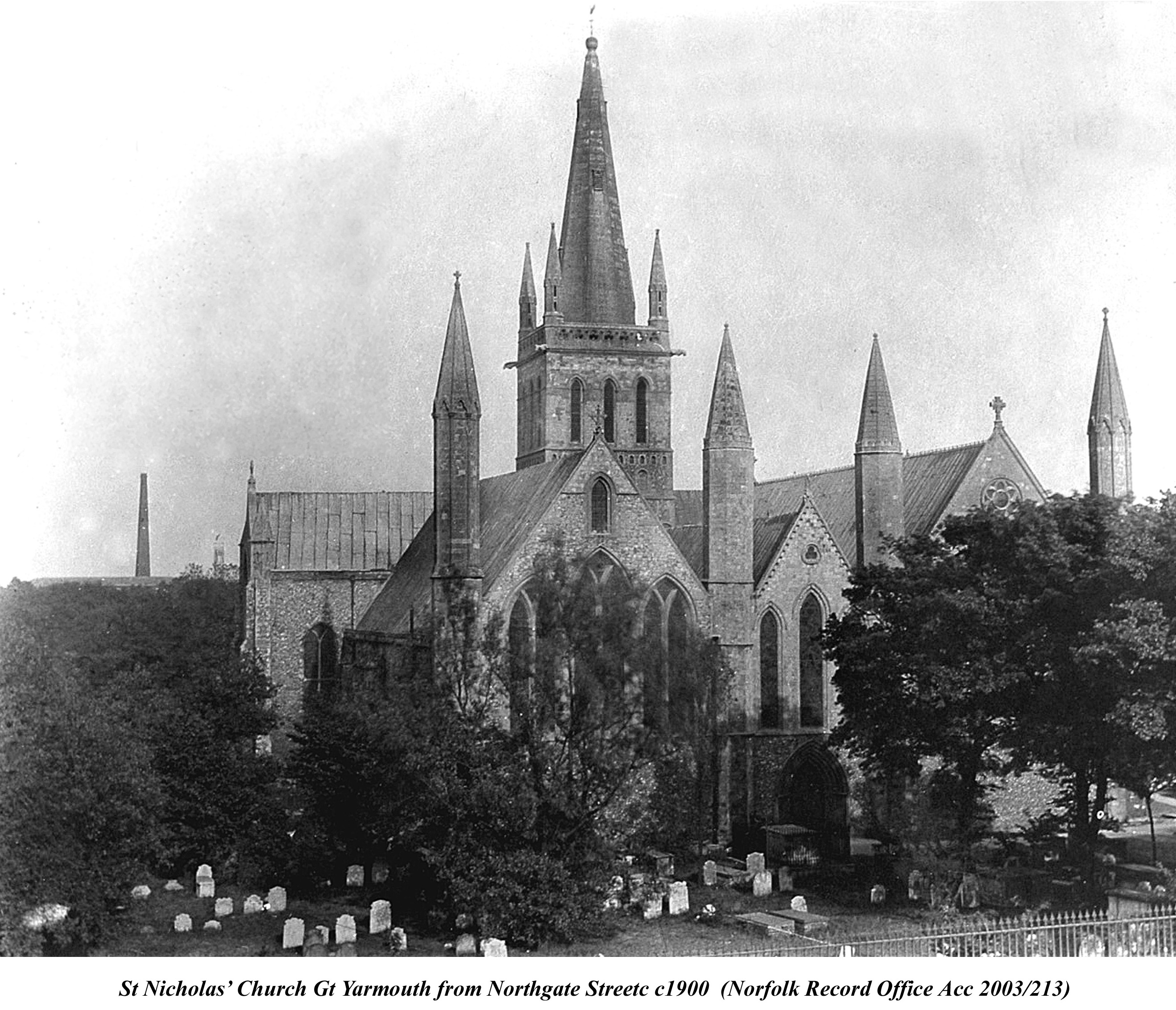 St Nicholas Church 1900