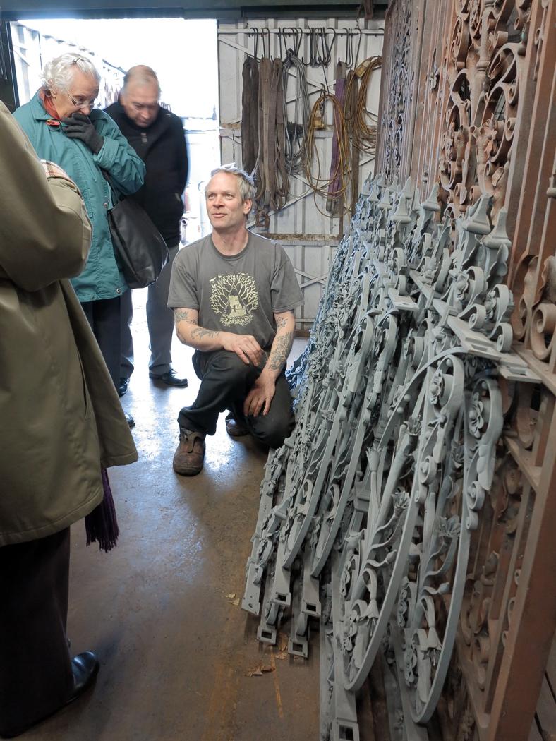 The Mills Railings with Nigel Barnet