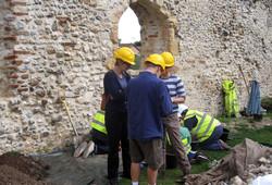 Hopton Church Dig 2014