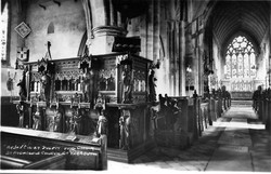 St Nicholas Pulpit & Chancel