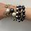 Thumbnail: Black pearl bangle