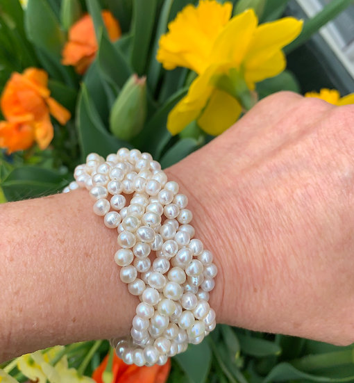 Pearl Turks Head Bracelet