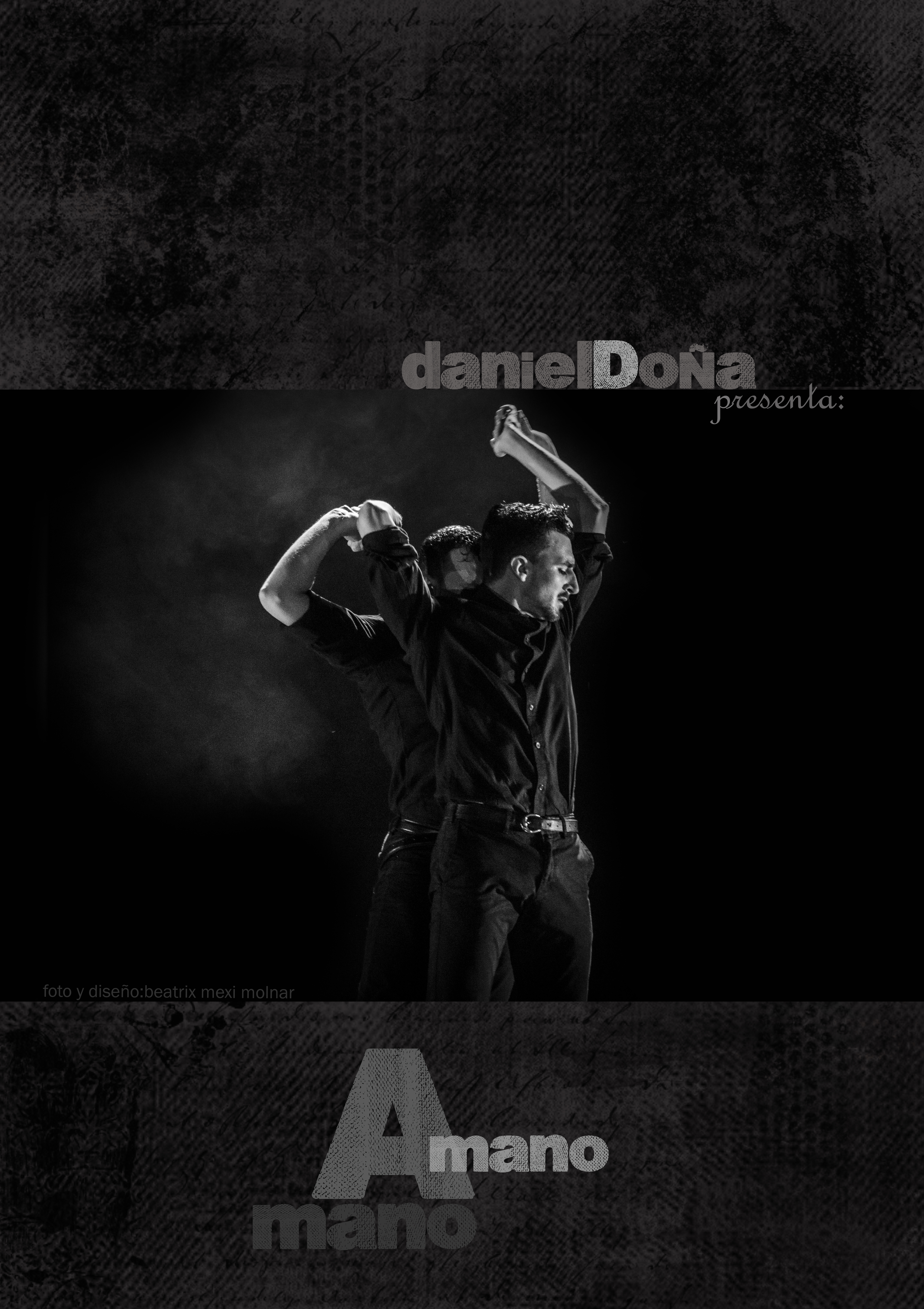 cartel: Daniel Doña-mano a mano