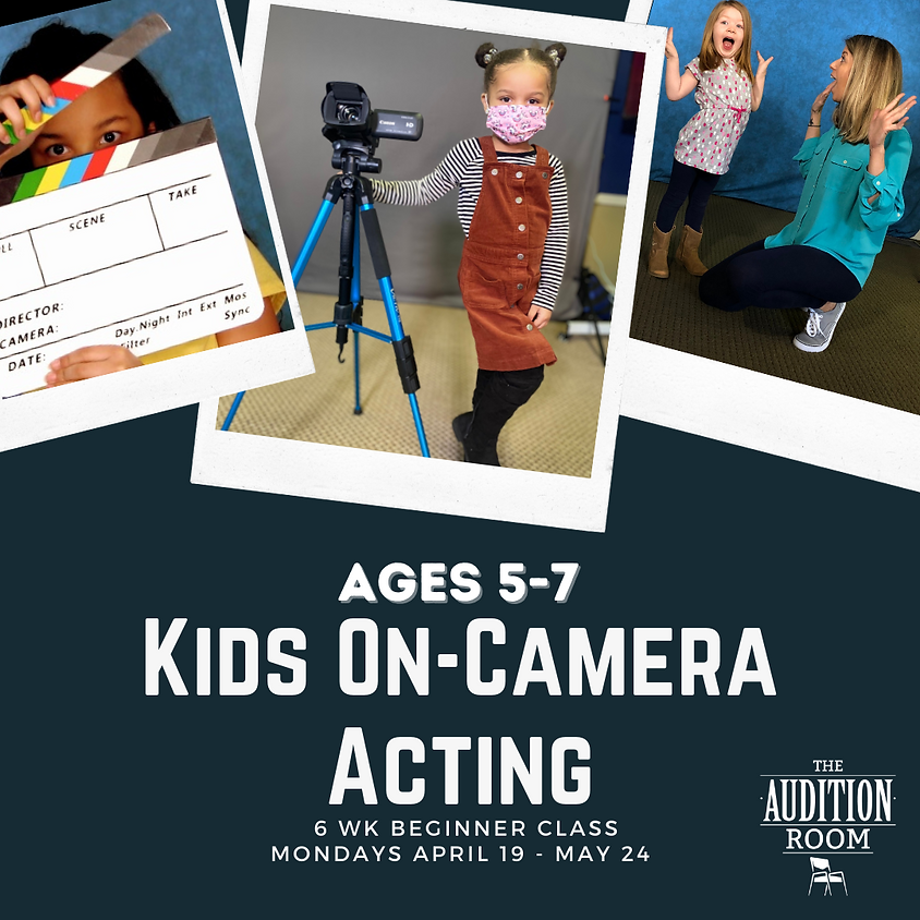 Ages 5-7 Kids On-Camera Acting: Essential Training for Beginners