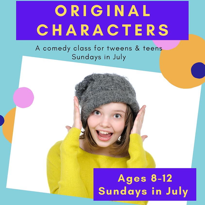 TWEENS - Original Characters