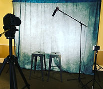 The Audition Room, background for filmed auditions