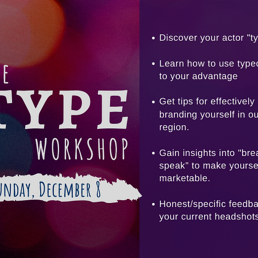 The TYPE Workshop