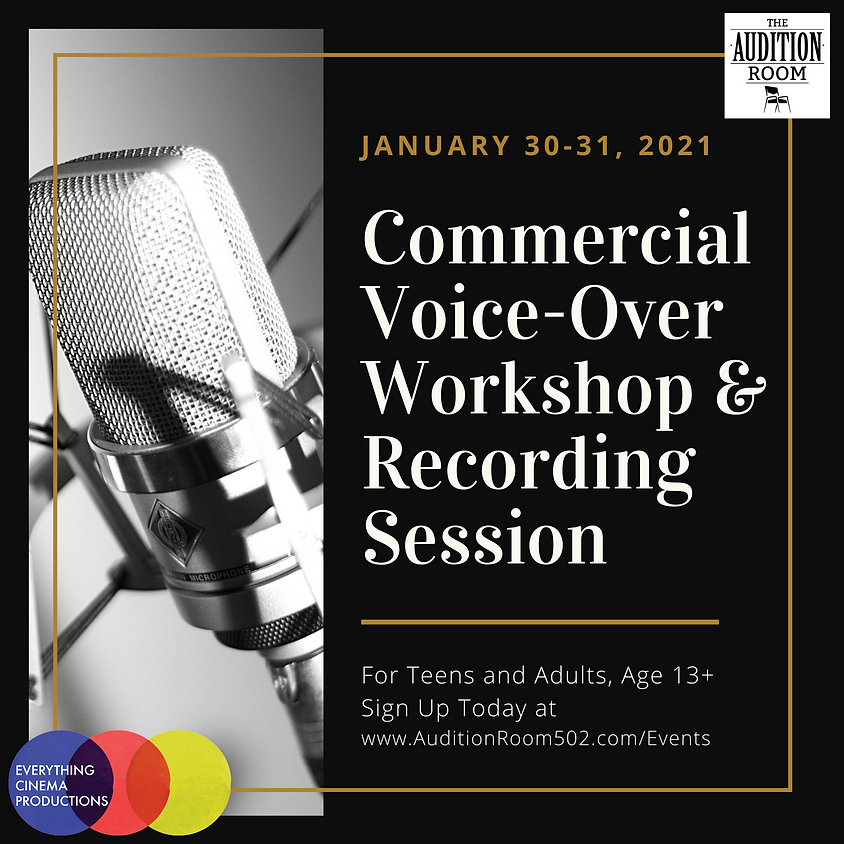 Commercial Voice-Over Workshop & Recording Session