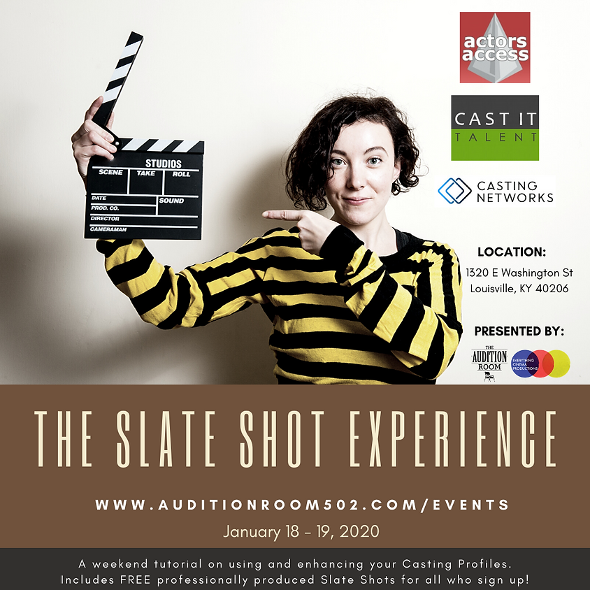 THE SLATE SHOT EXPERIENCE  Jan 2020