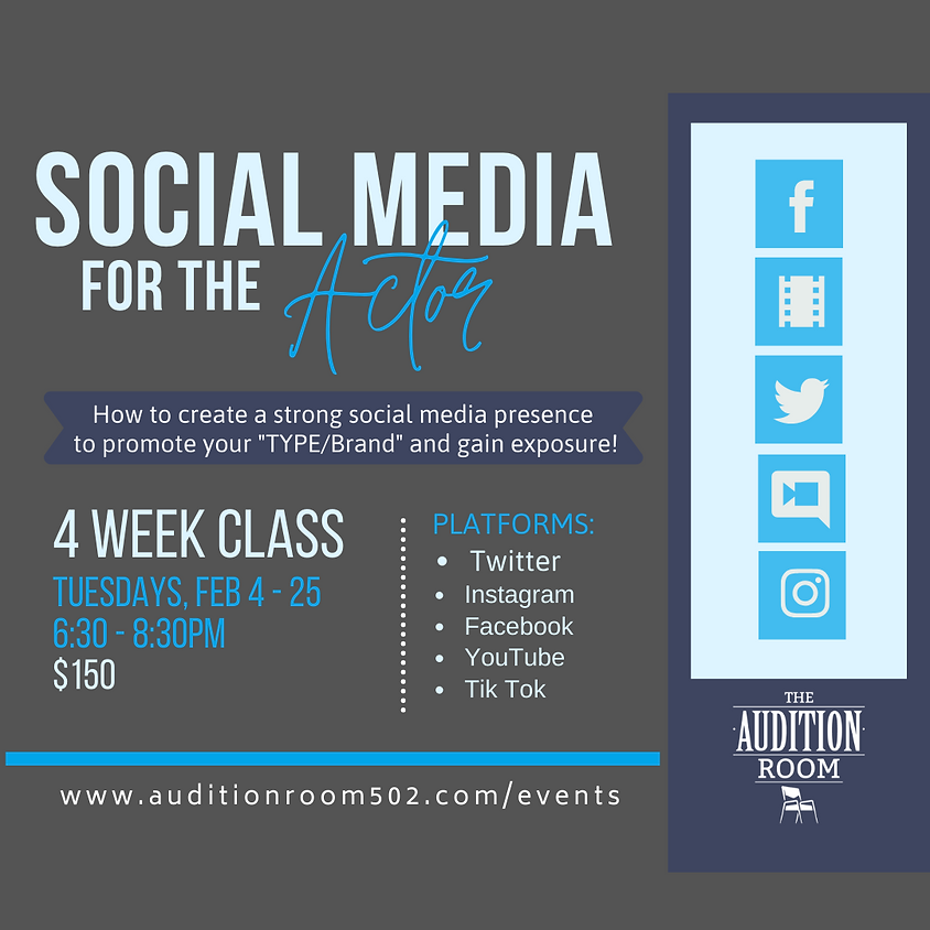 4 Wk Social Media for the Actor