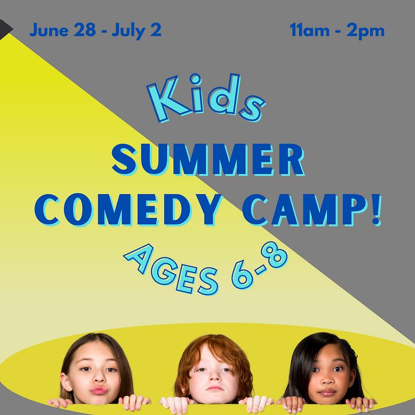 Kids Summer Comedy Camp