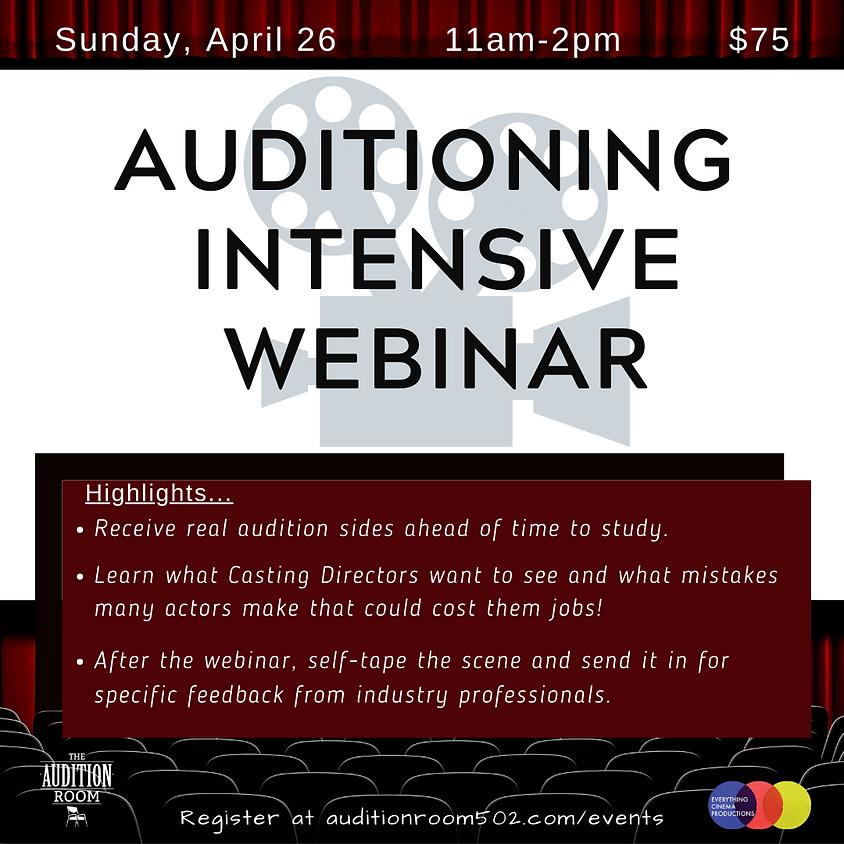 Audition Intensive - Webinar