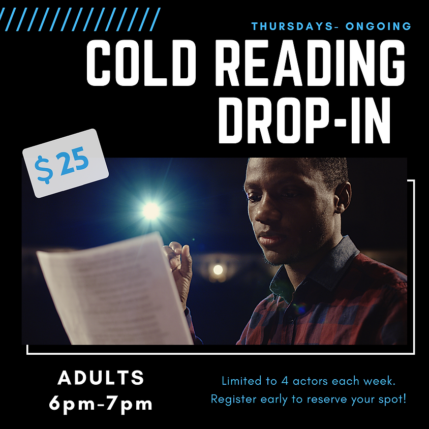 Thursday Cold Reading ADULTS Ages 14+