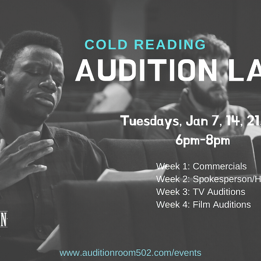 Cold Reading Audition Lab (Adults)