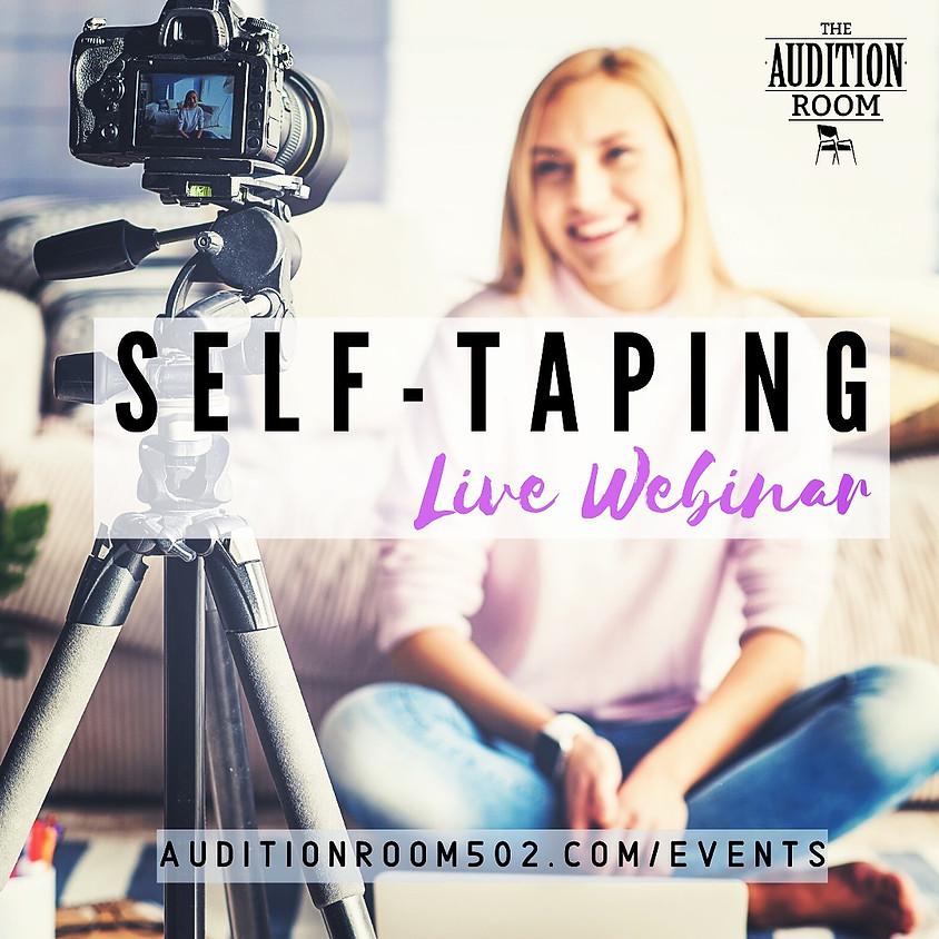Self-Taping for Actors - Webinar