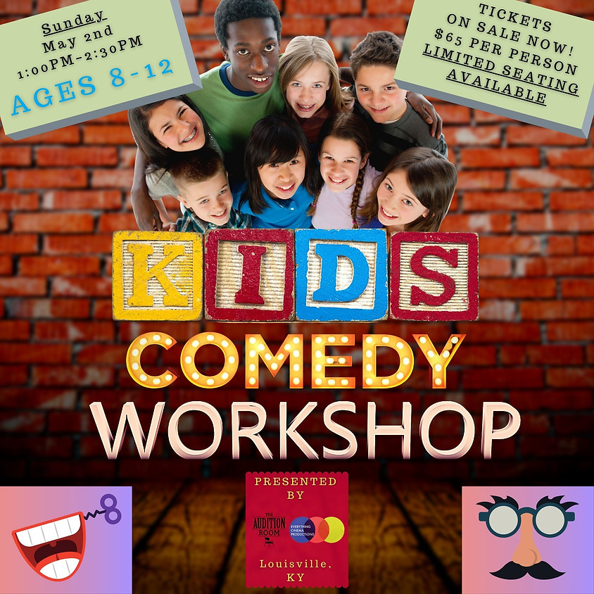 KIDS Comedy Workshop [for Ages 8–12]