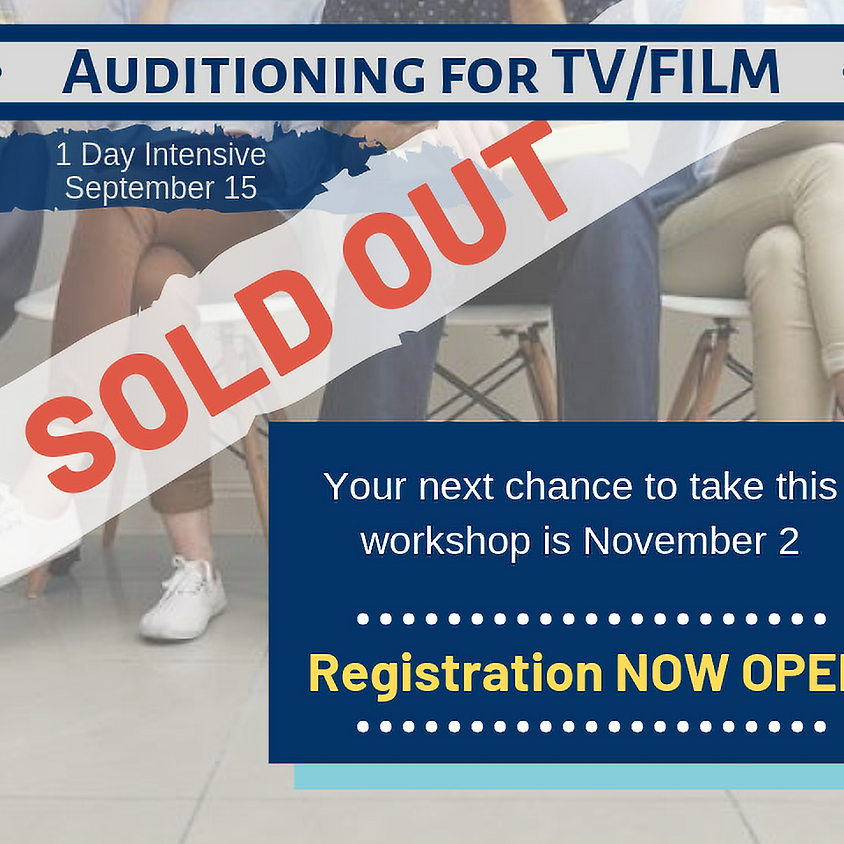 Auditioning for TV/Film Intensive