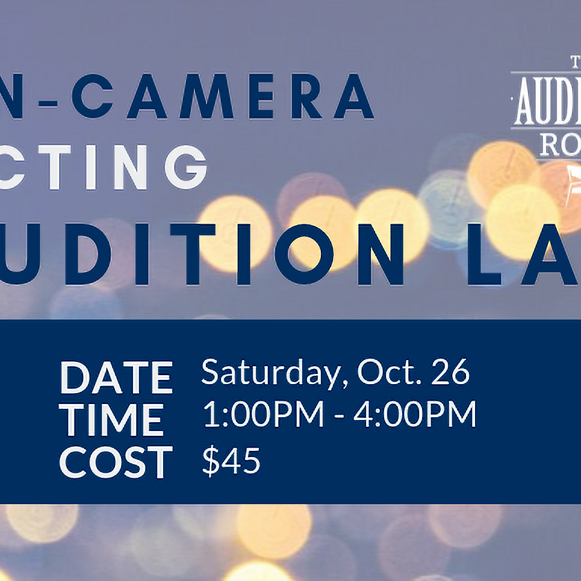 On-Camera Acting Audition Lab