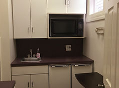 The Audition Room, kitchenette