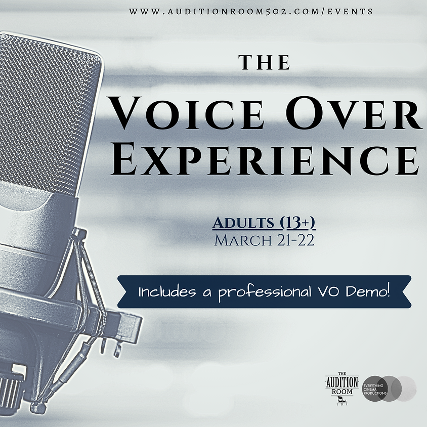 ADULTS - Voice Over Experience