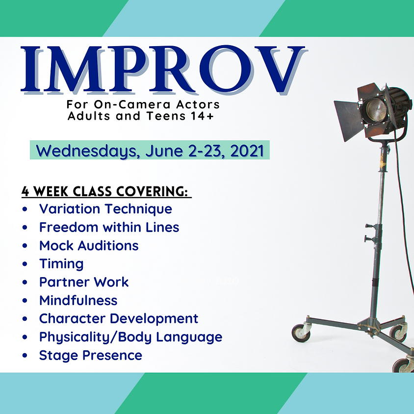 Improv for On-Camera Actors