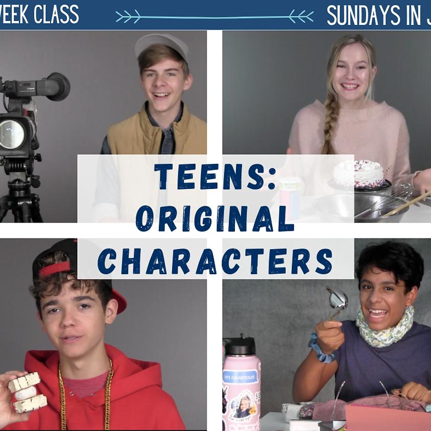 TEENS - Original Characters
