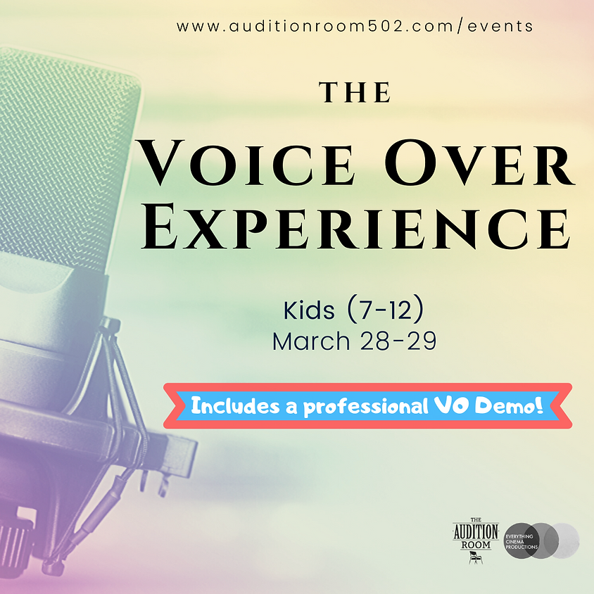 KIDS - Voice Over Experience