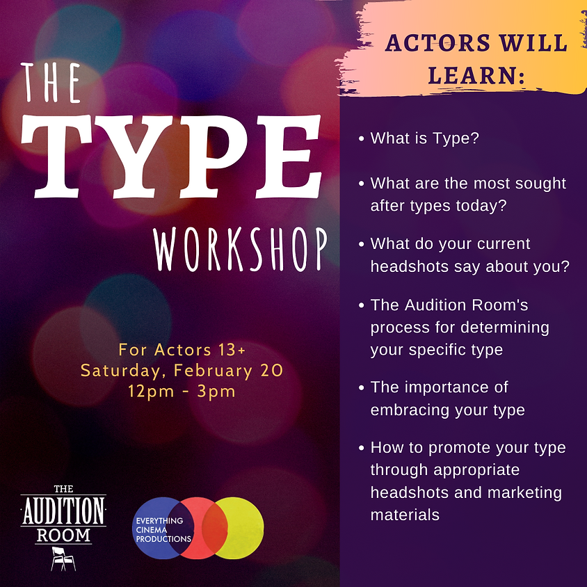 The TYPE Workshop for Actors