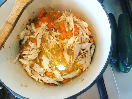 Easy Chicken Zoodle Soup