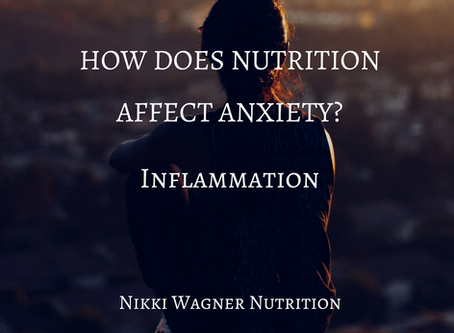 ANXIETY & INFLAMMATION