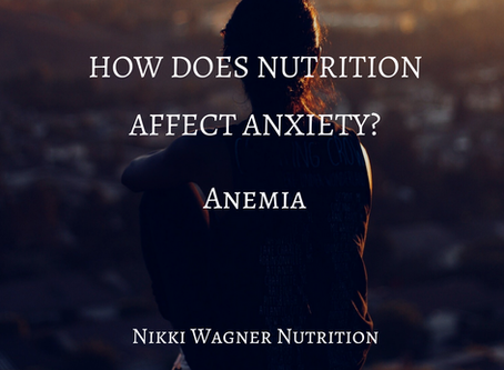 ANXIETY & ANEMIA