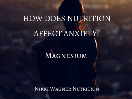 Anxiety and Magnesium