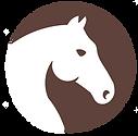 Horse head light dark brown.png