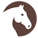 Horse head light dark brown.png