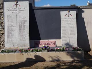 Inauguration d'une plaque commémorative