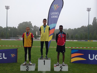 Championnat régional d'athlétisme à Flers