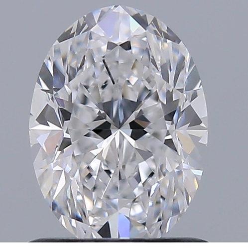 Diamant naturel taille ovale 3,01 carats E SI1 GIA