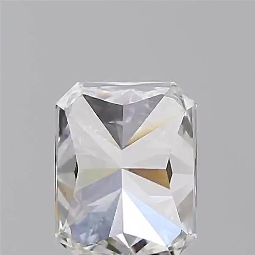 Radiant cut natural diamond 1.5 carats G SI1 GIA certificate