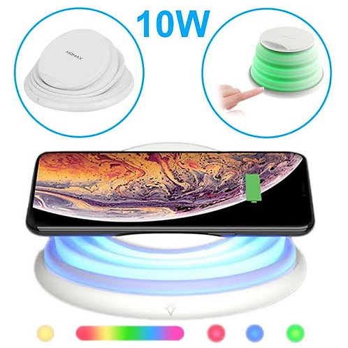 Wireless Charger with LED Color Changing Lamp