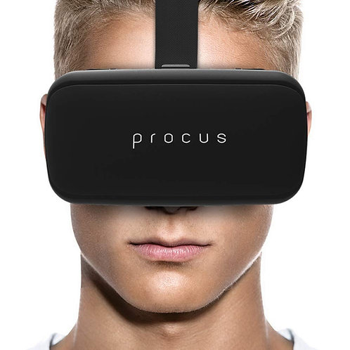 Procus ONE Virtual Reality Headset 40MM Lenses -For IOS and Android