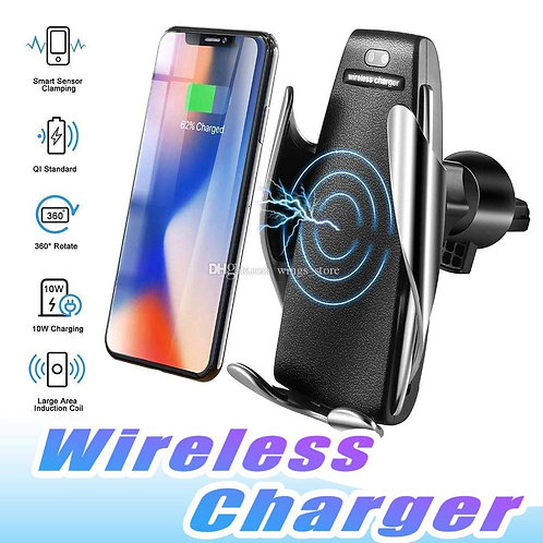 10W Ultra Fast Automatic Smart sensor Car Wireless Charger