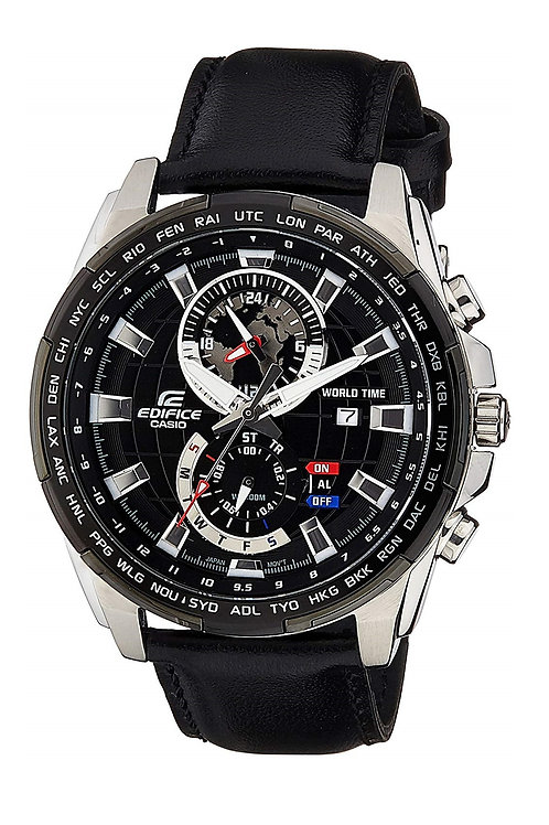 Casio Edifice Analog Black Dial Men's Watch - EFR-550L-1AVUDF (EX264)