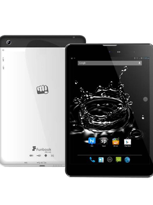 Micromax P580i Tablet (7.8 inch, 8GB, Wi-Fi+3G+Voice Calling), Silver
