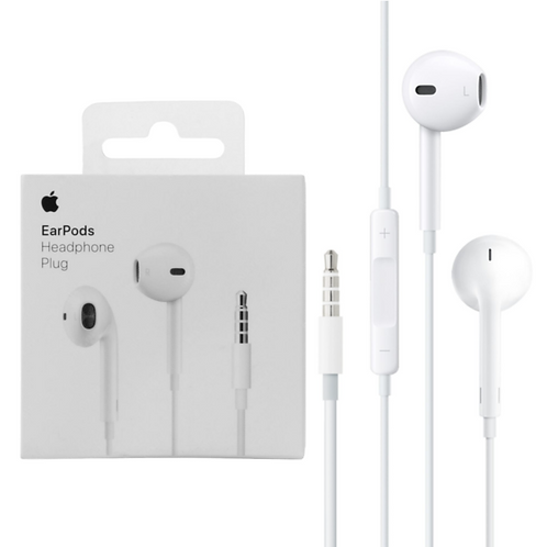 Apple EarPods with 3.5mm Headphone Plug (MNHF2ZM/A) Wired Headset with Mic