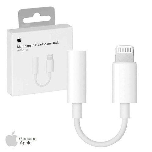 Apple MMX62ZM/A Lightning to 3.5 mm Headphone Adapter